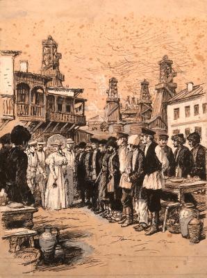 Ванециан Арам Врамшапу. В старом Баку