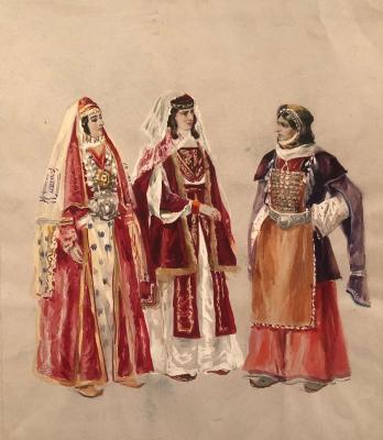 Ванециан Арам Врамшапу. Дугавахка, карталинка и инчилойка