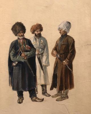 Ванециан Арам Врамшапу. Кубачинец, аварец, цахуриец