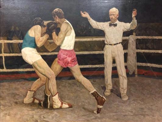 Степанов Иван Григорьевич. На ринге