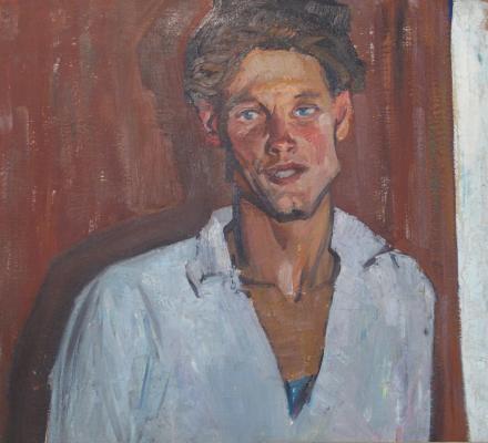 "Alekseyev A. Y. ""Portrait of driver Alexander Shtreydera"""