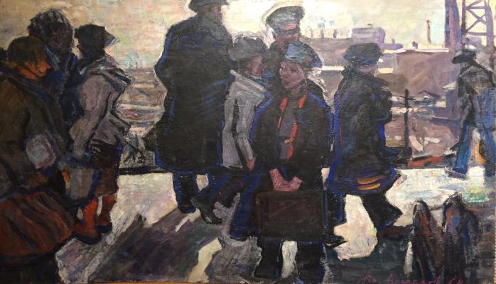 "Alekseyev A. Y. ""On the platform"""