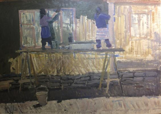"Alekseyev A. Y. ""Painters."""