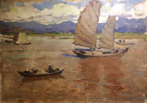 "Alekseyev A. Y. ""Haiphong. Red River."""