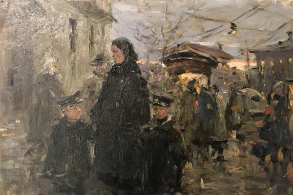 """Alekseyev A. Y. """"Moscow street"""""""
