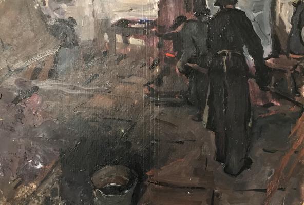 "Alekseyev A. Y. ""Blacksmiths"""