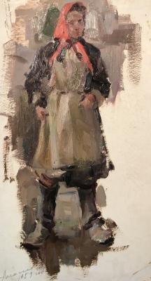 "Alekseyev A. Y. ""Female worker"""