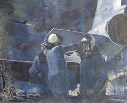 Алексеев Адольф Евгеньевич. После полета