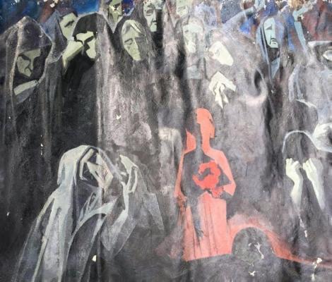 """Виктор Павлович Кабанов """"Вечная скорбь матерей"""""""