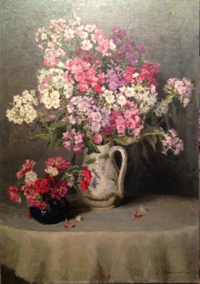 "Mashinskaya S. ""Phlox and cloves."""