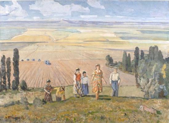 Полюшенко Андрей Петрович. На просторах родины