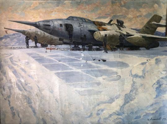 Ананьев Михаил Ананьевич. Подготовка к полётам