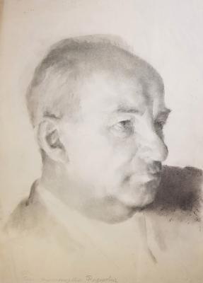 Ванеев Петр Иванович. Портрет Бориса Александровича Федоровича
