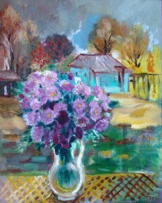 Рыжова Татьяна Ивановна. Освещённые солнцем