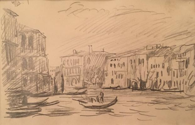 """Gerasimov S. V. """"Venice."""""""