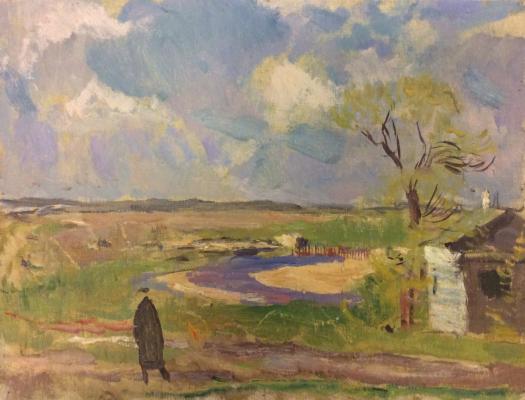 Герасимов Сергей Васильевич. Москва-река под Можайском