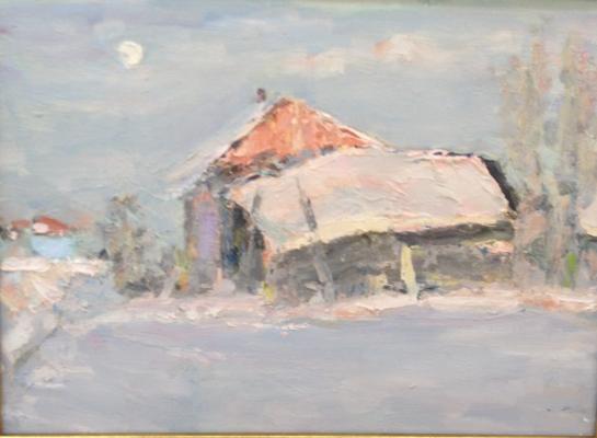 Белов Николай Николаевич. Зимний пейзаж