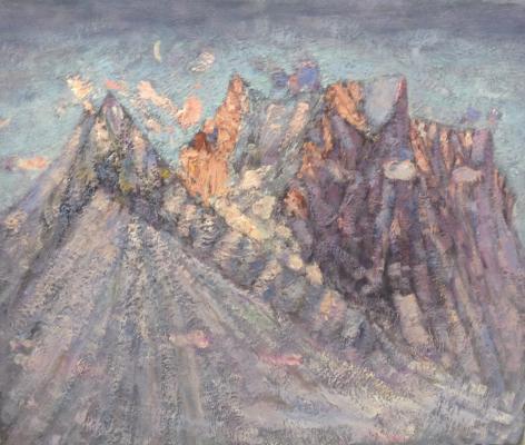 Белов Николай Николаевич. Кавказские горы
