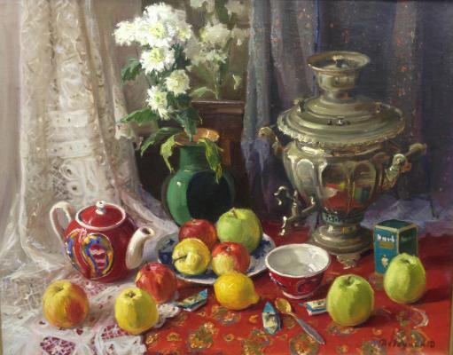 Девочкин Дмитрий Юрьевич. У чайного стола