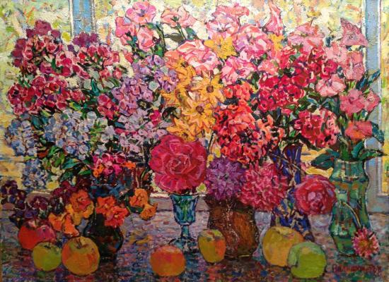 """Valiakhmetov A. K. """"Phlox and apples"""""""