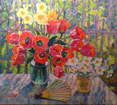 "Valiakhmetov A. K. ""Narcissuses and tulips"""