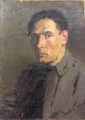 Завьялов Александр Васильевич. Портрет молодого человека