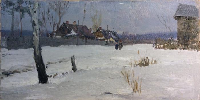 Завьялов Александр Васильевич. Зима