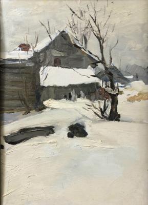 Завьялов Александр Васильевич. Зимний пейзаж