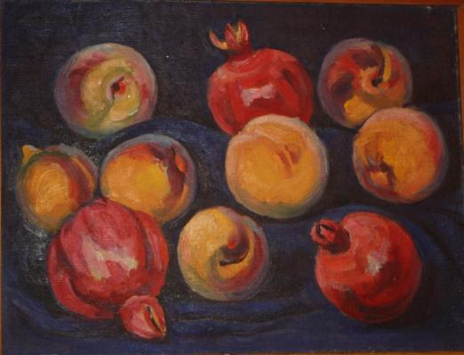 "Aslamazyan M. A. ""Pomegranates and peaches ."""