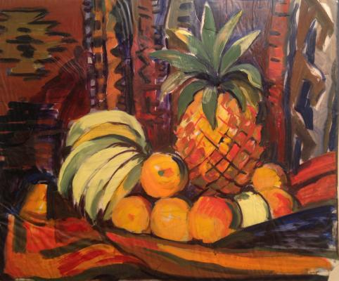 "Aslamazyan M. A. ""Pineapple and bananas."""