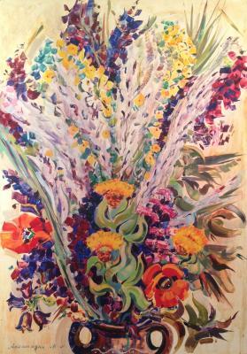 Асламазян Мариам Аршаковна. Цветы.