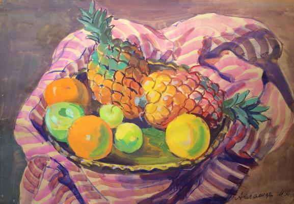 "Aslamazyan M. A. ""Pineapples."""