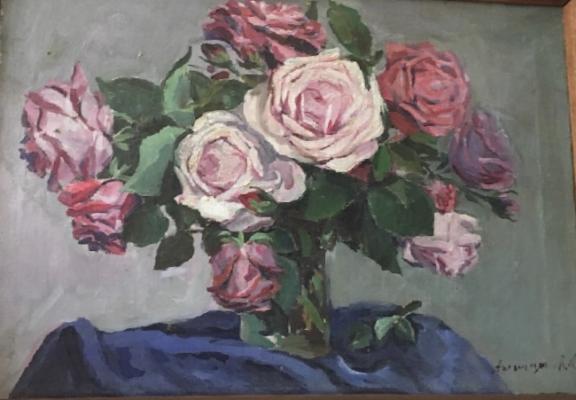 Асламазян Мариам Аршаковна. Розы
