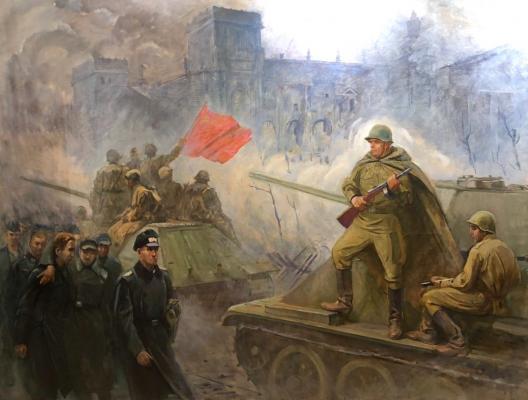 Зорькин Юрий Иванович. Взятие Рейстага