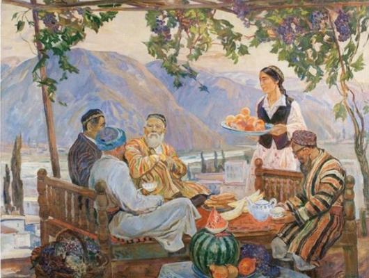 Сорогин Геннадий Павлович. Дары Узбекистана