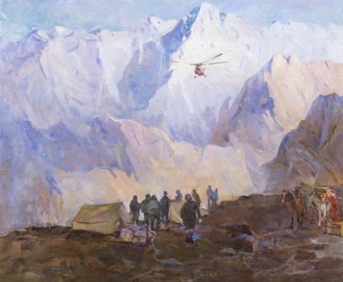 Китаев В.В.. Геофизическая экспедиция