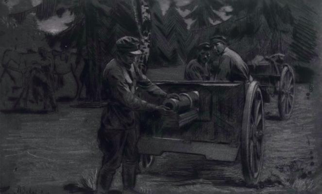 Завьялов Василий Васильевич. На маневрах