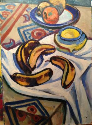 "Nikonov M. F. ""Still life with bananas"""