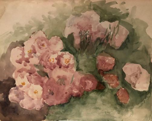 Белаковская Виктория Марковна. Цветы на кусте