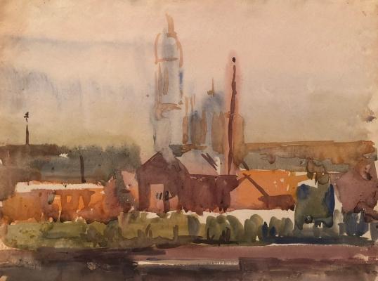 Белаковская Виктория Марковна. Городской пейзаж