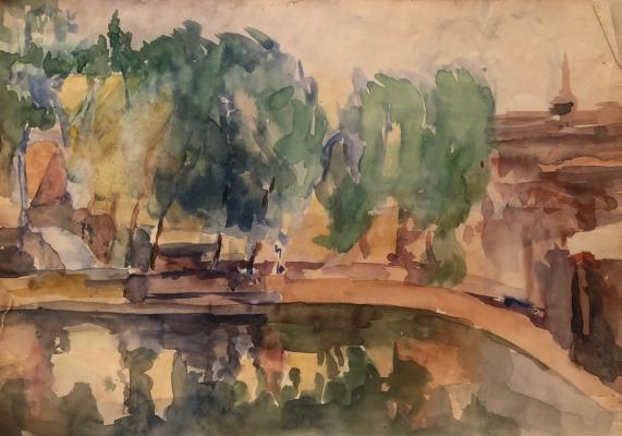 Белаковская Виктория Марковна. Городской пруд