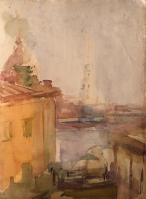Белаковская Виктория Марковна. Вид из окна