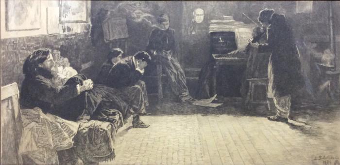 Балестриери Лионелло. Бетховен («Крейцерова соната»). Париж