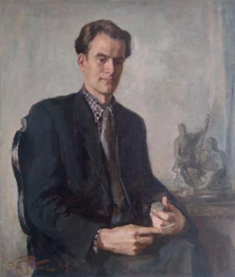 Ребане Эрих Иоганесович. Мужской портрет