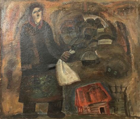 Малофеев Михаил Алексеевич. Деревенская жительница