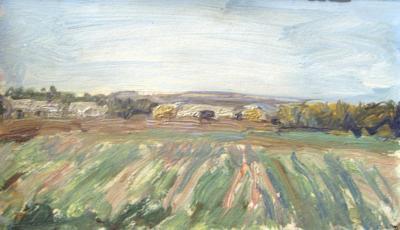 "Udaltsova N. A. ""Landscape"""