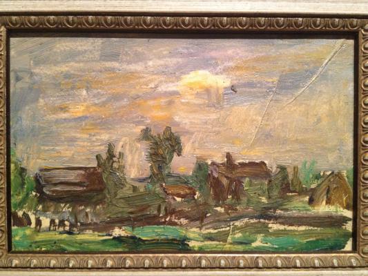 """Udaltsova N. A. """"Rural landscape ."""""""