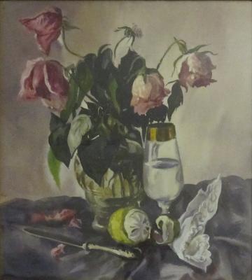 Матвеева Наталия Борисовна. Розы и фрукты