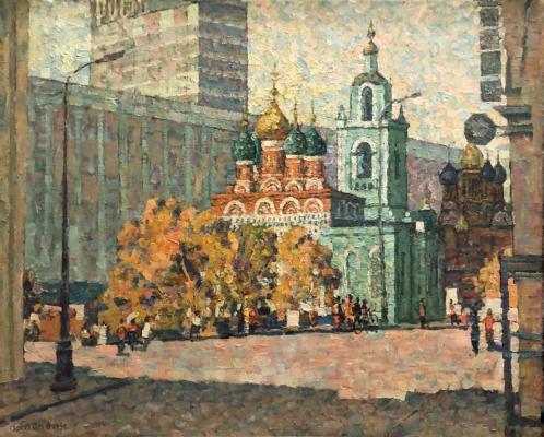 Гландин Алексей Леонидович. Москва, улица Варварка