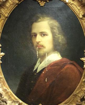 Майков Николай Аполлонович. Мужской портрет